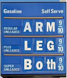 gas prices are expensive