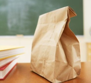 paper packed lunch