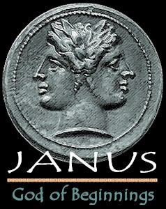 Janus the Roman god of January
