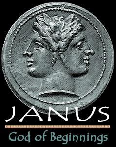 Janus the Roman god of January