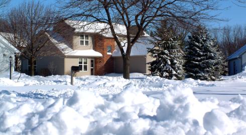 2007 Blizzard at Purdue University