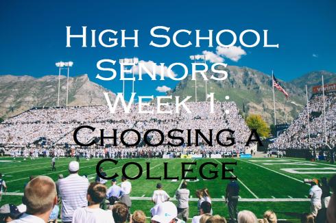 HS Seniors Week 1