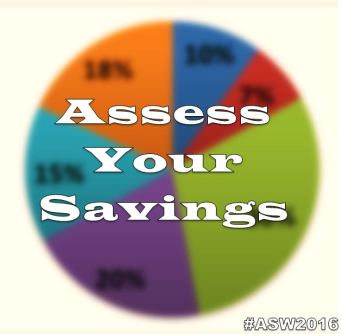 America Saves Week Day2 Assess Your Savings