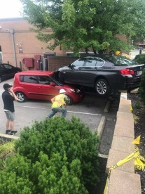 Chipotle Car crash